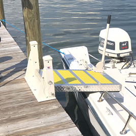 Basic Dock Model - Deployed